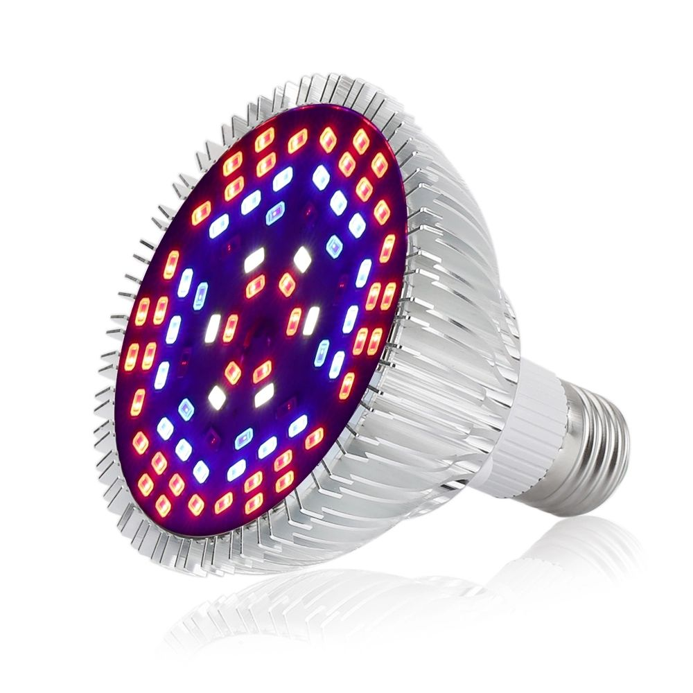 Full Spectrum Led Grow Light 18 30 50W Lamp Plants Growing Lamp