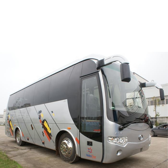 China supplier new design 35 seat luxury passenger coach tour bus for sale