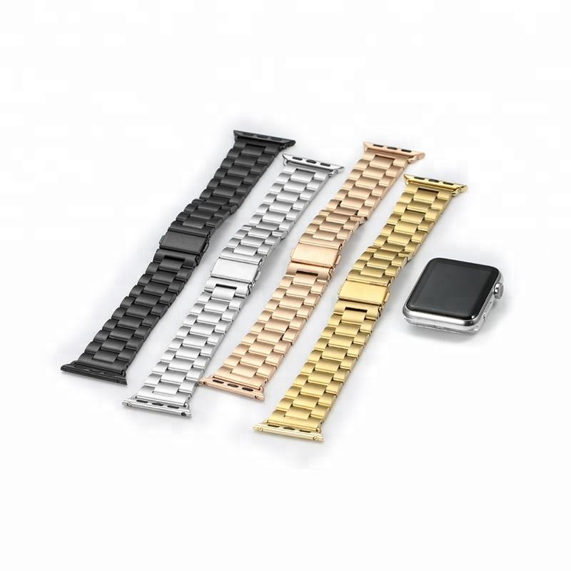 Quality 316L Stainless Steel Metal Bracelet Watch Strap Link For Apple Watch Band
