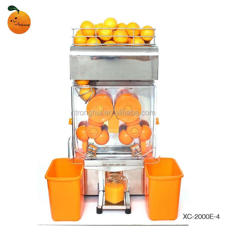 Лучшие продажи высококачественных промышленных оранжевый соковыжималка сжимая автомат