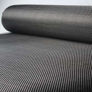 3K 200g/m2 0.28mm Thickness Plain Twill Carbon Fiber Cloth