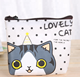 Drop shipping creative design cat models waterproof material purse storage package