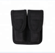 Police Tactical Nylon Belt Pouch Double Magazine Holder