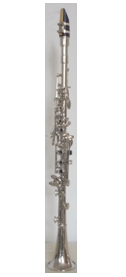 XCL5001 Nickel Plated Keys Metal Clarinet