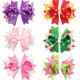 In Stock Wholesale Kids Hair Ribbon Bows With Clip Boutique Holiday Grosgrain Hair Bow Clips