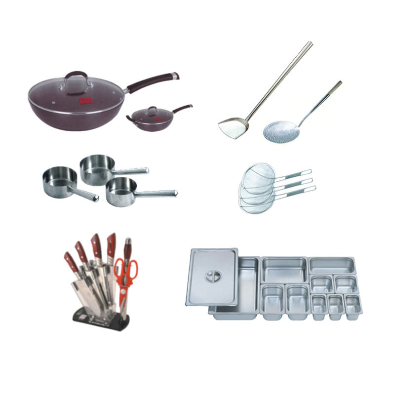 High quality kitchenware stainless steel set cooking utensils