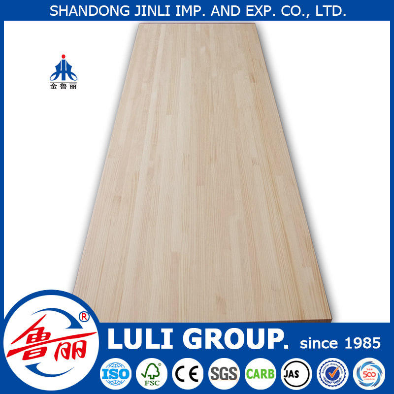 Rubber wood finger joint board for LULI GROUP SINCE 1985