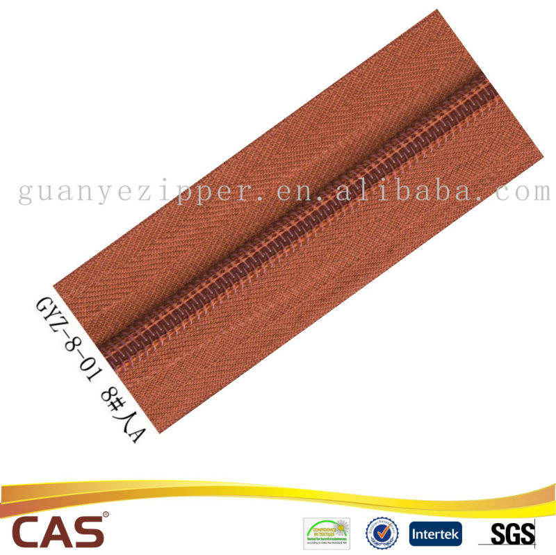 nylon zipper long chain used for luggage,tent, bag, bedding bags
