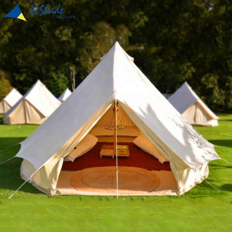 Yurt Tent Natural Cotton Canvas Glamping