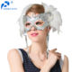 Manufacturer Made In China Simple Fashional Design Black Carnival Halloween Masquerade Party Feather Mask