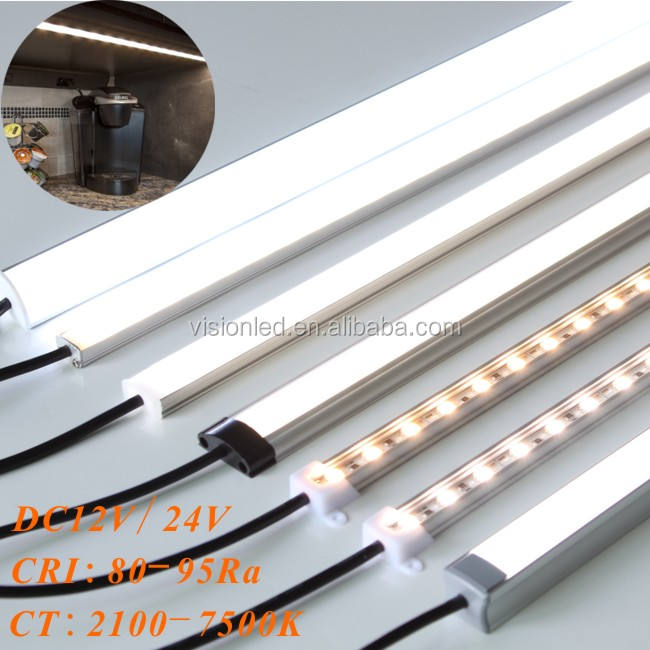 Slim aluminum profile for led strip with diffuser, OEM length!