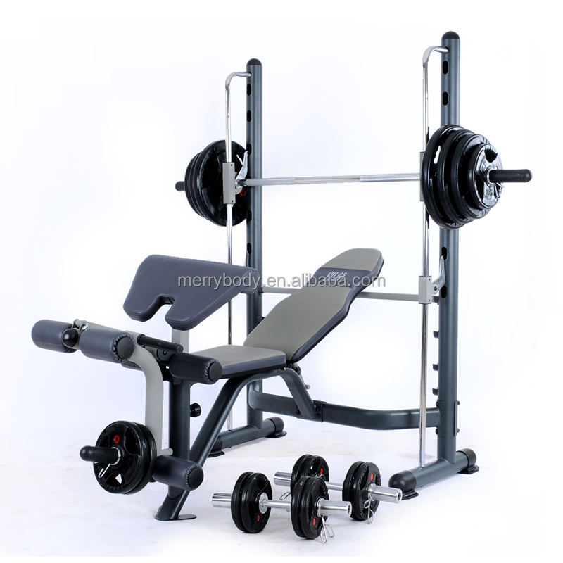 Fitness equipment weight bench