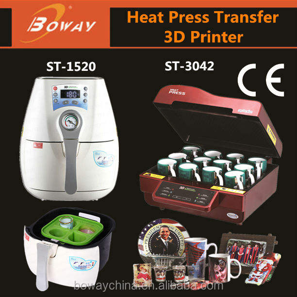 Small 3D Sublimation Vacuum Heat Press machine mug press