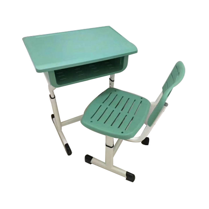 New style comfortable school desk and chair for school