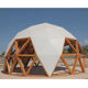 Big Canopy Steel Metal Frame Event 20M Diameter Geodesic Dome Tent