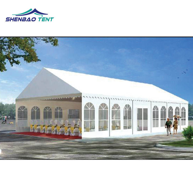 Guangzhou 10m x 30m White Marquee Tent , Wedding Tent for Party Event , Outdoor Gazebo