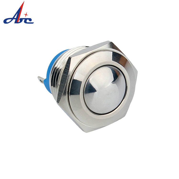 16mm Mechanical Momentary IP67 Waterproof Pull Cord Push Button Led Light Switch