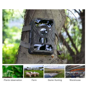 Outdoor waterproof gsm remote alarm sms sim mms infrared night vision animal trail 3g wireless hunting camera trap