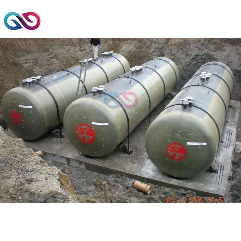 Double layer underground buried diesel fuel tank price double wall SF petrol oil gasoline storage tank for oil station