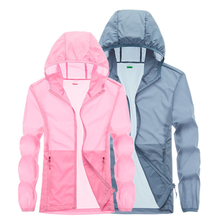 Sunscreen Jacket Windbreaker Waterproof Quick Dry Translucent Breathable  Outdoor Ultra-Thin Hooded Sports Windbreaker