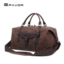Waxed Canvas Water Resistant Overnight Holdall big Travel Vintage Weekend Mens Sport Duffle Duffel Bags for travelling