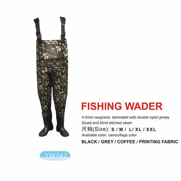 Waders 100% Waterproof 1 Piece Neoprene Fishing Waders