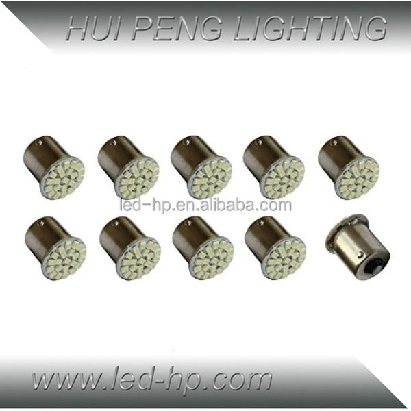 Factory Price 22SMD Auto Light 1157 Car Led 1156 S25 Bulb