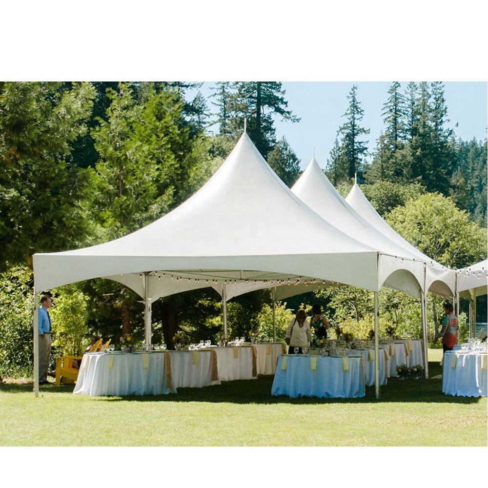Custom White Outdoor Canvas PVC Marquee Canopy Wedding Event Party Tent