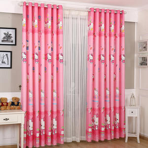 Hello Kitty Blackout Curtain For Kid Room