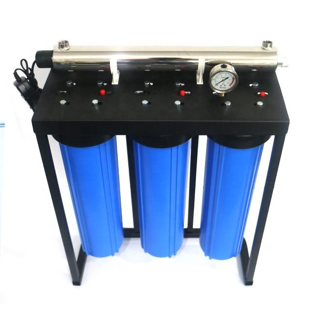 3 stages big blue water purifier water filters FOR whole house