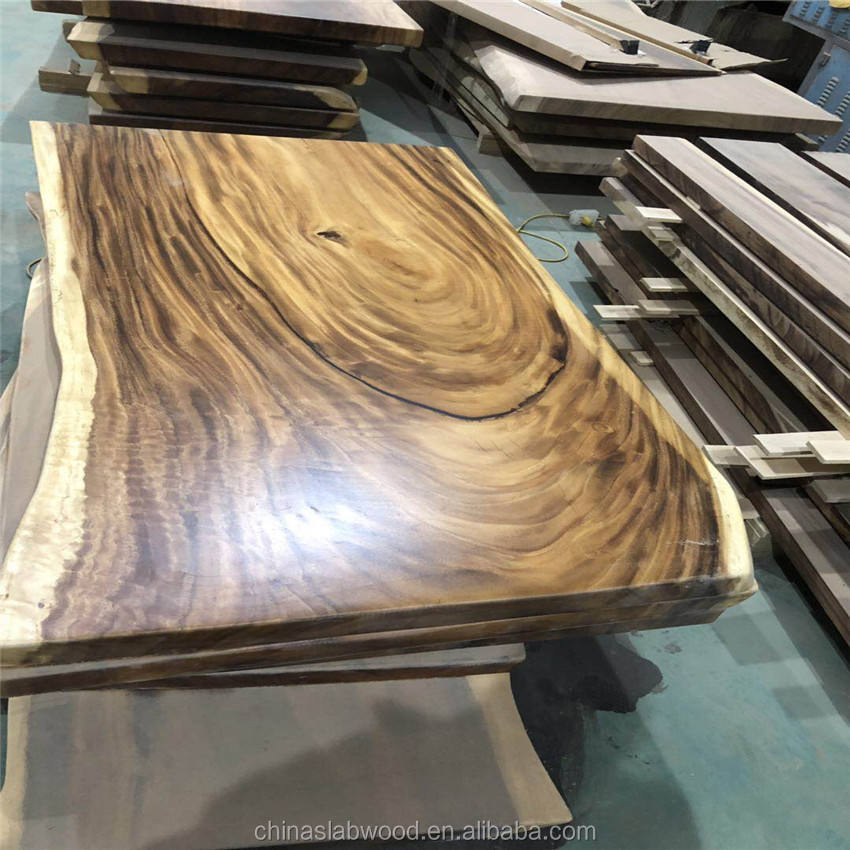 2019LIVE EDGE TABLE TOPS -SUAR WOOD SLAB - WHOLESALE
