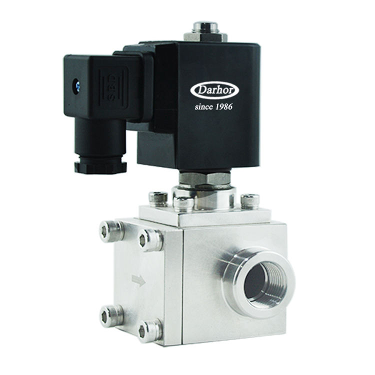 Pressure up to 200bar 250 bar 300bar 12V 24V 220V high pressure solenoid valve