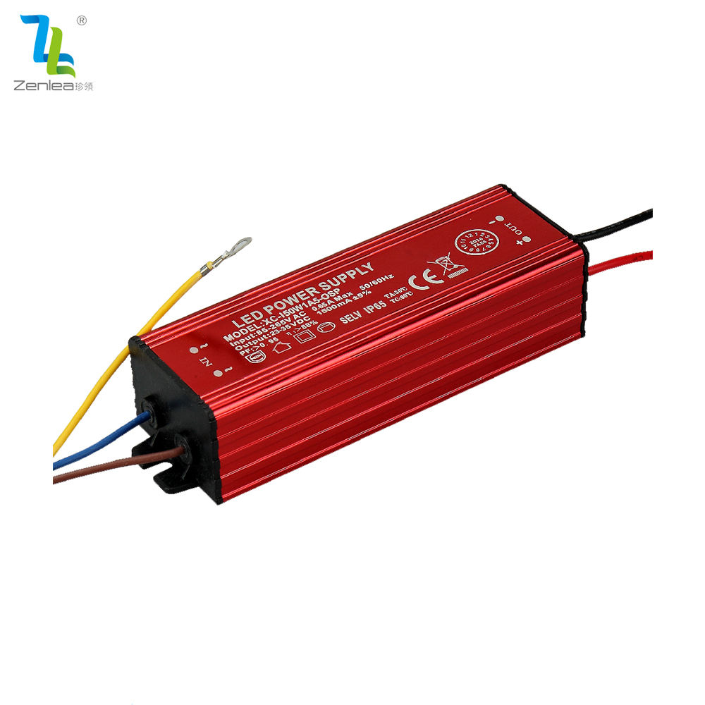 CE RoHS constant current 50W LED driver 1500ma power supply