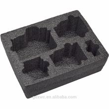 custom design black epe foam, epe foam die cutting, epe foam packaging