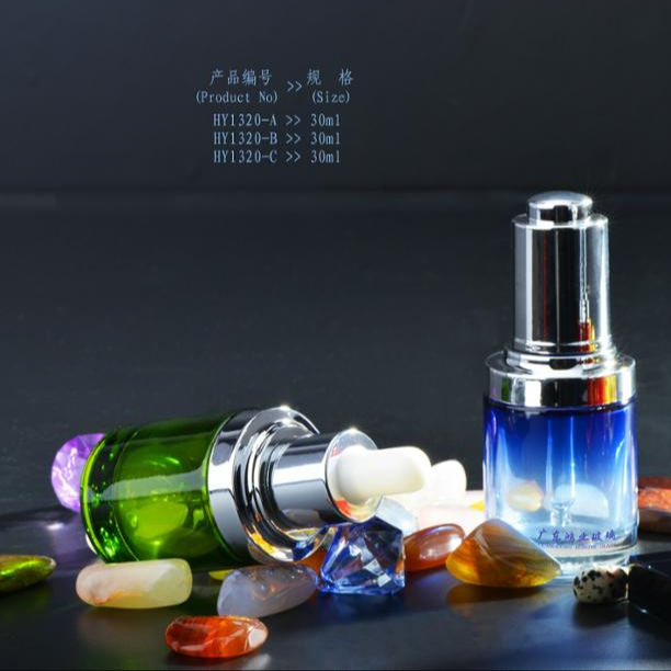 30ml glass plastic dropper bottle for essential oil
