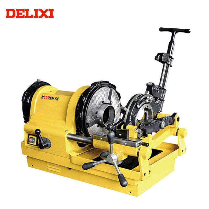 "DLX100D1 1/2"" To 4"" 750W Plumbing Tools 4 in. pipe threader machine portable electric"