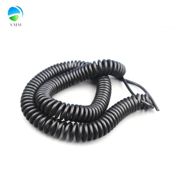 Customized Connected Assembly DC Power Coiled Spiral Wire Cable