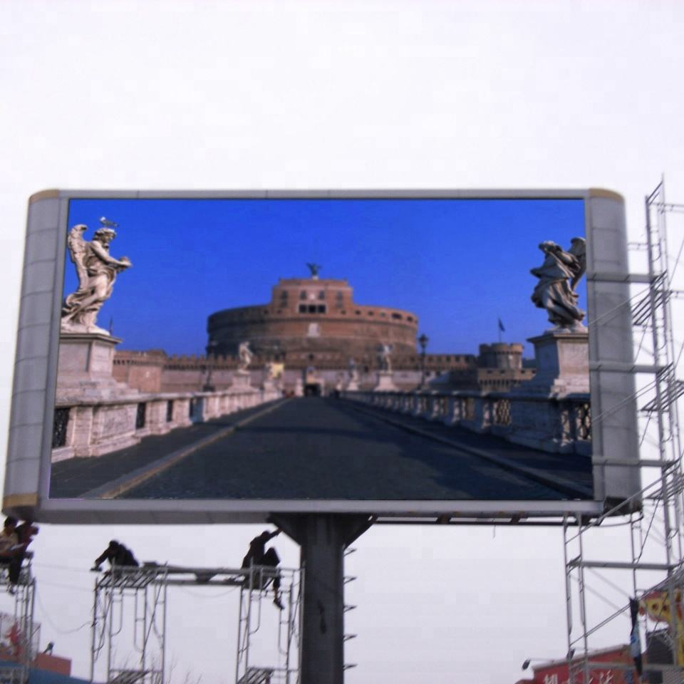 outdoor full color P10 giant led screen for sale