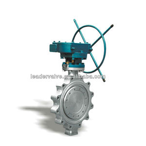 WZLD Dn40-Dn500 Handle Control Triple Offset Stainless Steel Wafer Lug Butterfly Valve