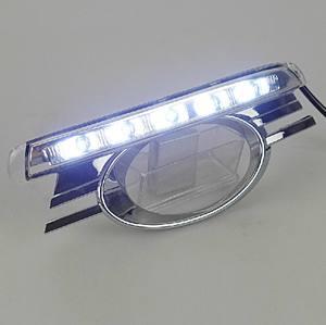 12v para Mercedes Benz W204 C Class luces LED de circulación diurna lámpara de cabeza DRL