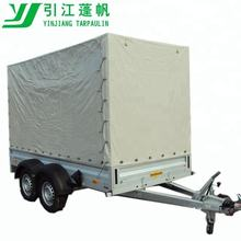 Utility cargo trailer covers