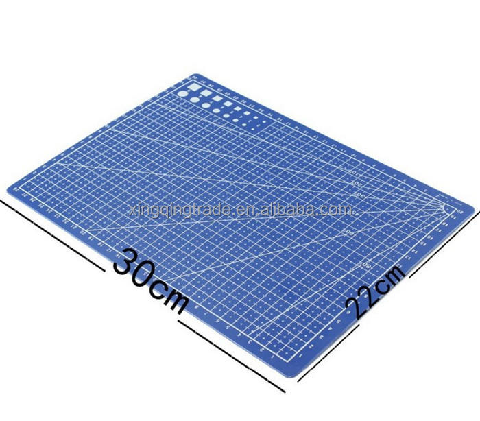 A4 / 30 * 22cm sewing cutting mats reversible design engraving cutting board mat handmade hand tools
