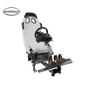 Nieuwe Product Game Racing Cockpit Simulator Seat Voor Logitech G25 G27 G29 Xbox Ps4