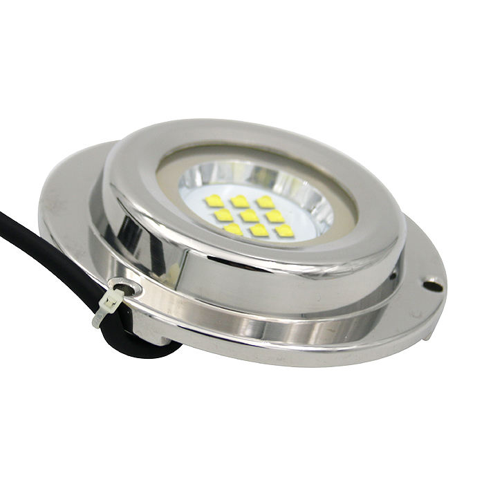 27w crees rgb underwater led boat light/ 12v wireless underwater light with remote bluetooth control