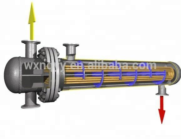 ASME approved tube and shell heat exchanger