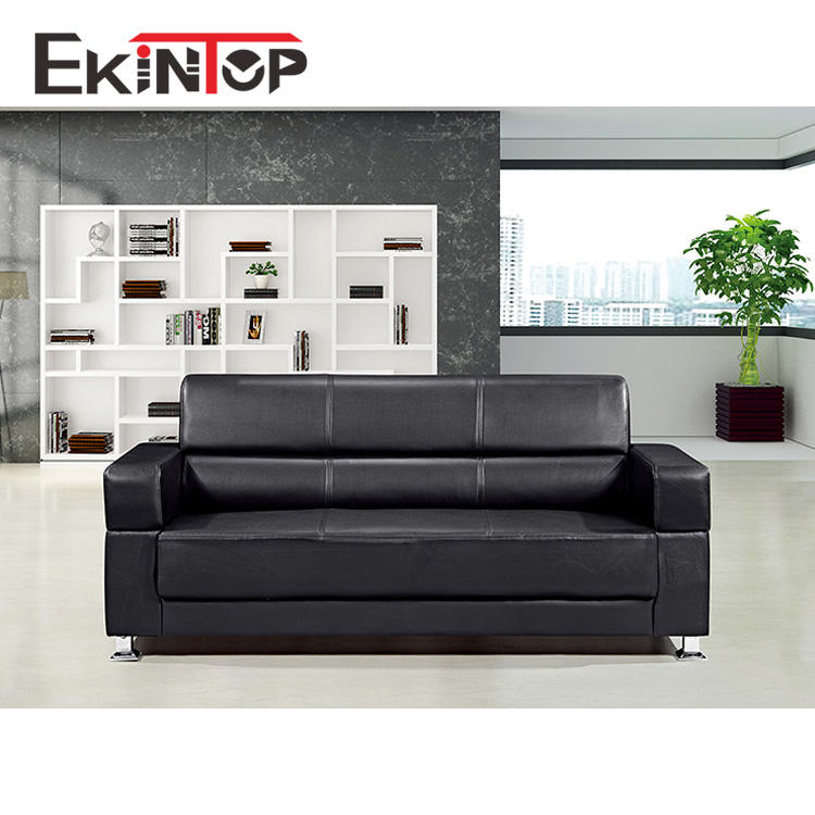 Ekintop Shanghai people lounger leather divan smart sofa sat