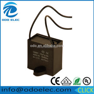 AC metallized polypropylene film capacitor CBB61 205j 400v
