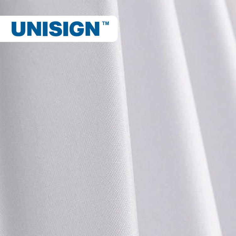 100% Polyester Textile Material For Sublimation Printer Banner Base Material Flag Fabric