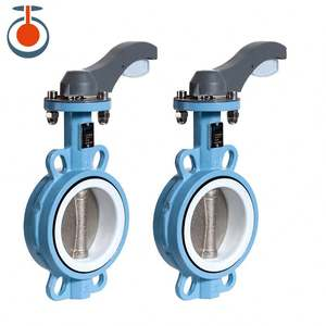 Cost Effective Price Rubber Lined Butterfly Valve