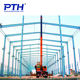 Prefabricated Warehouse Material China Supplier Factory Prefabricated Steel Structure Building Workshop Warehouse With GB Steel Material
